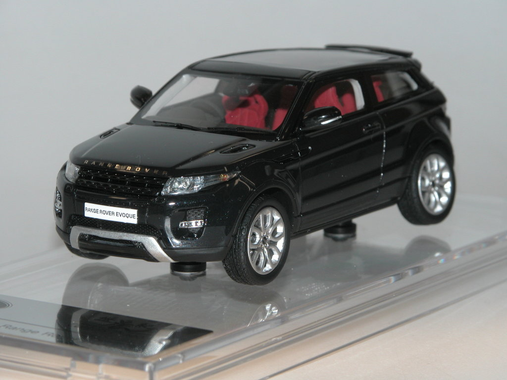 CENTURY DRAGON 1//43 RESIN LAND//RANGE ROVER EVOQUE 3 DOOR 2011 SANTORINI BLACK