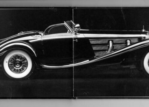 1936 Mercedes Benz 540 K Special Roadster Auction Catalogue 2012